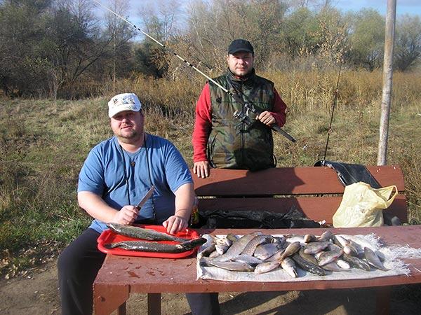 рыбалка на тамбовке