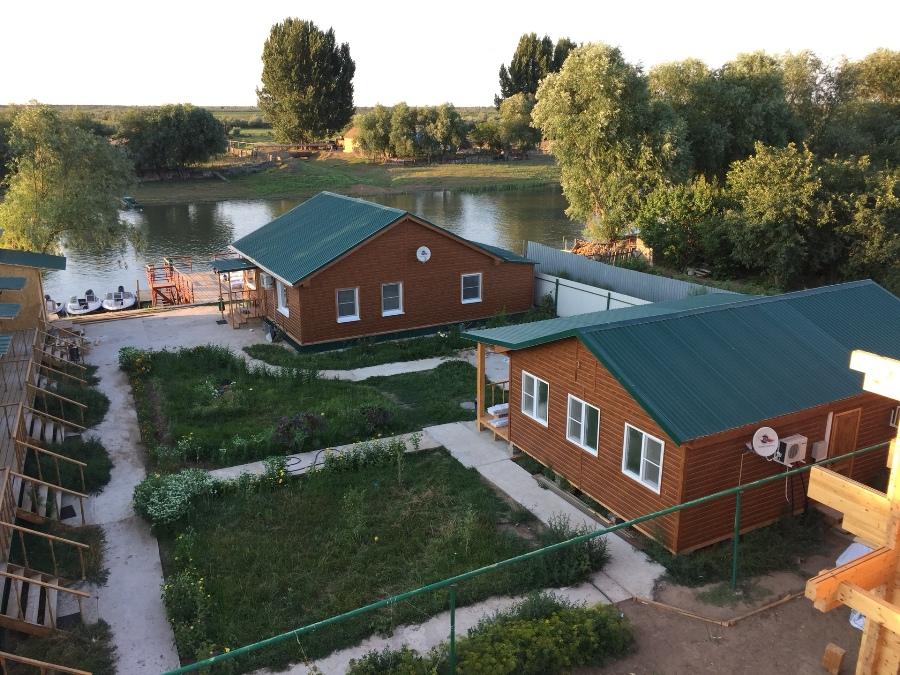 рыболовная база рыбацкий домик