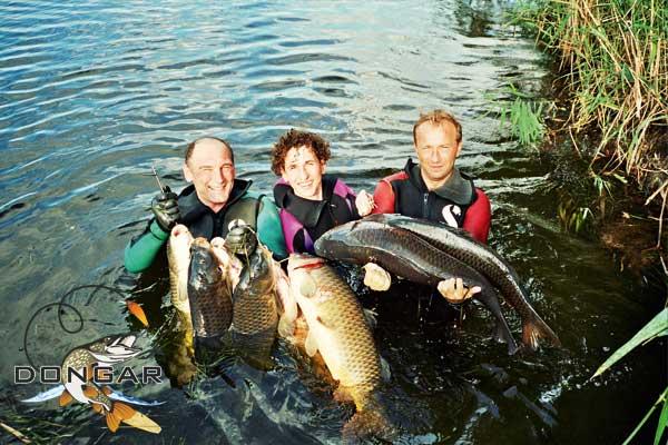 Рыбалка в дмитриевской