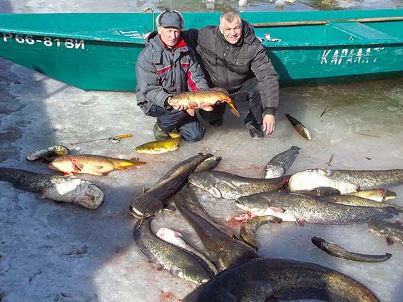 видео рыбалка каралат