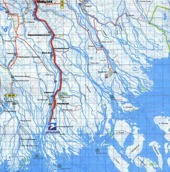 рыболовные карты волгограда