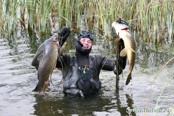 Рыбалка охота подводная охота